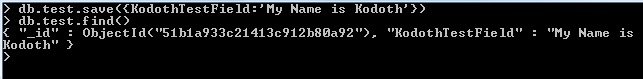 Mongo command to search for a document, similar to SELECT in SQL.